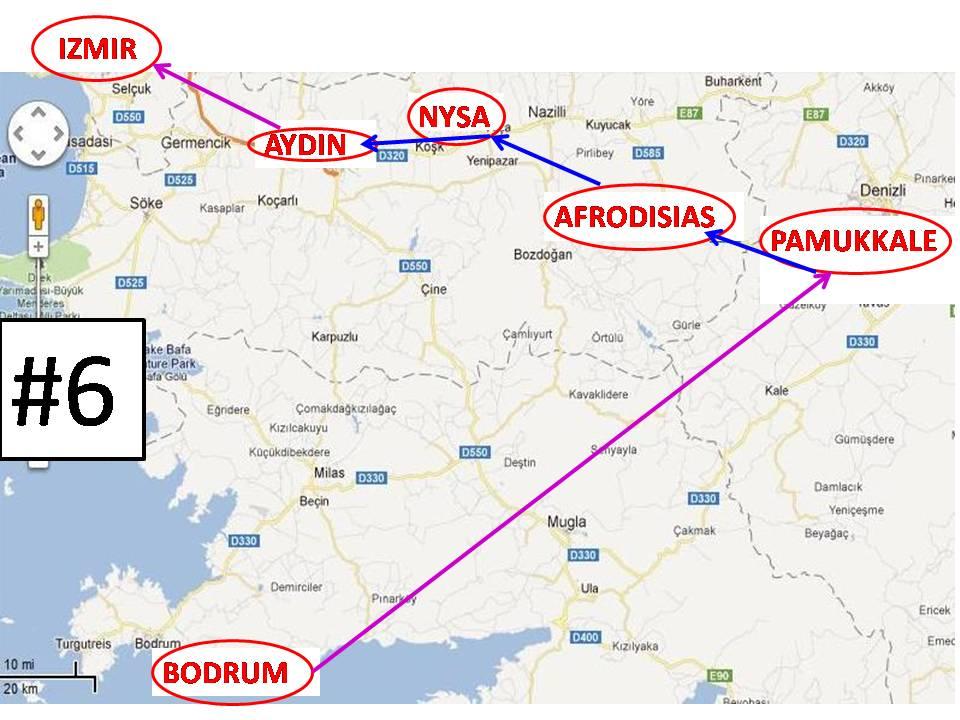MAP Turkey 2011